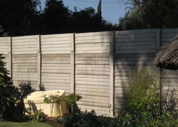 Concrete Wall Extensions